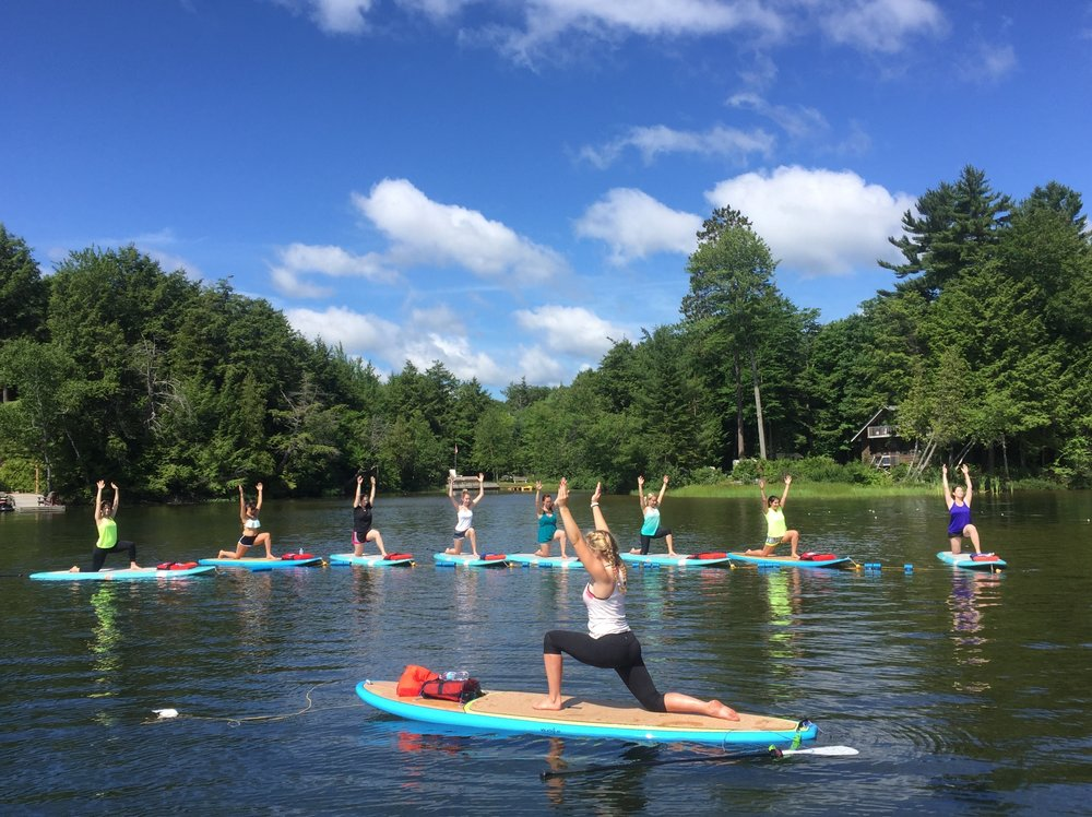 Bachelorette party in Lake of Bays