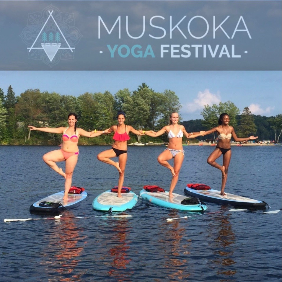 SUP Yoga is one of the add-on experiences at MYF. Registration required, $34.