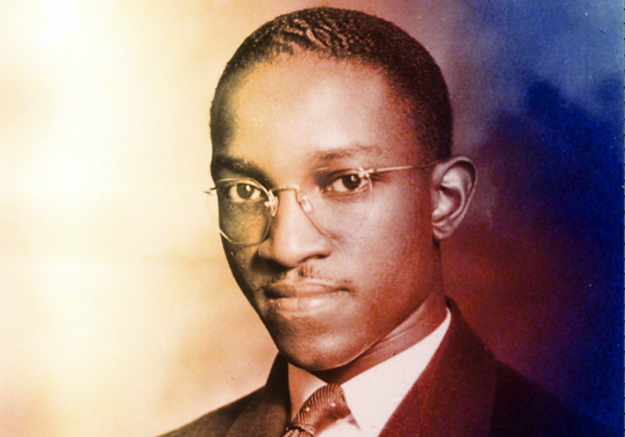 John Hope Franklin from his admissions file at Harvard University, 1935