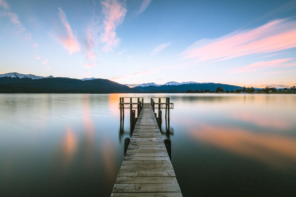 The Insta Famous wharf at Lake Te Anau