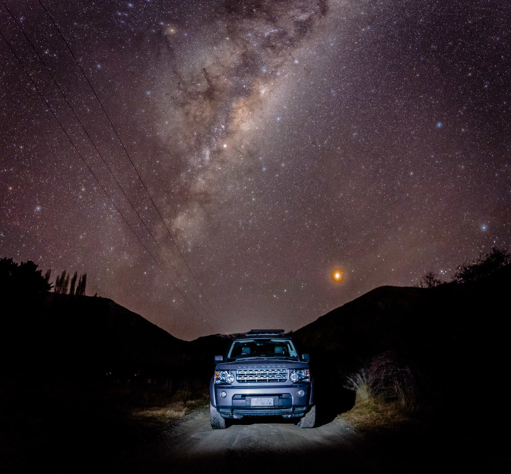 Our Land Rover Discovery