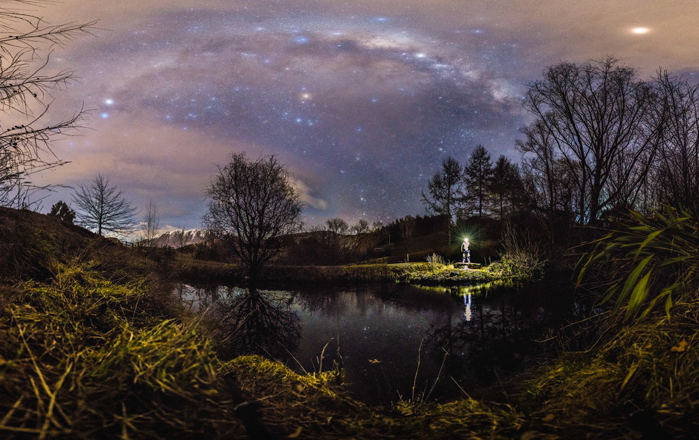 One of our private locations, perfect for Astro Portraits