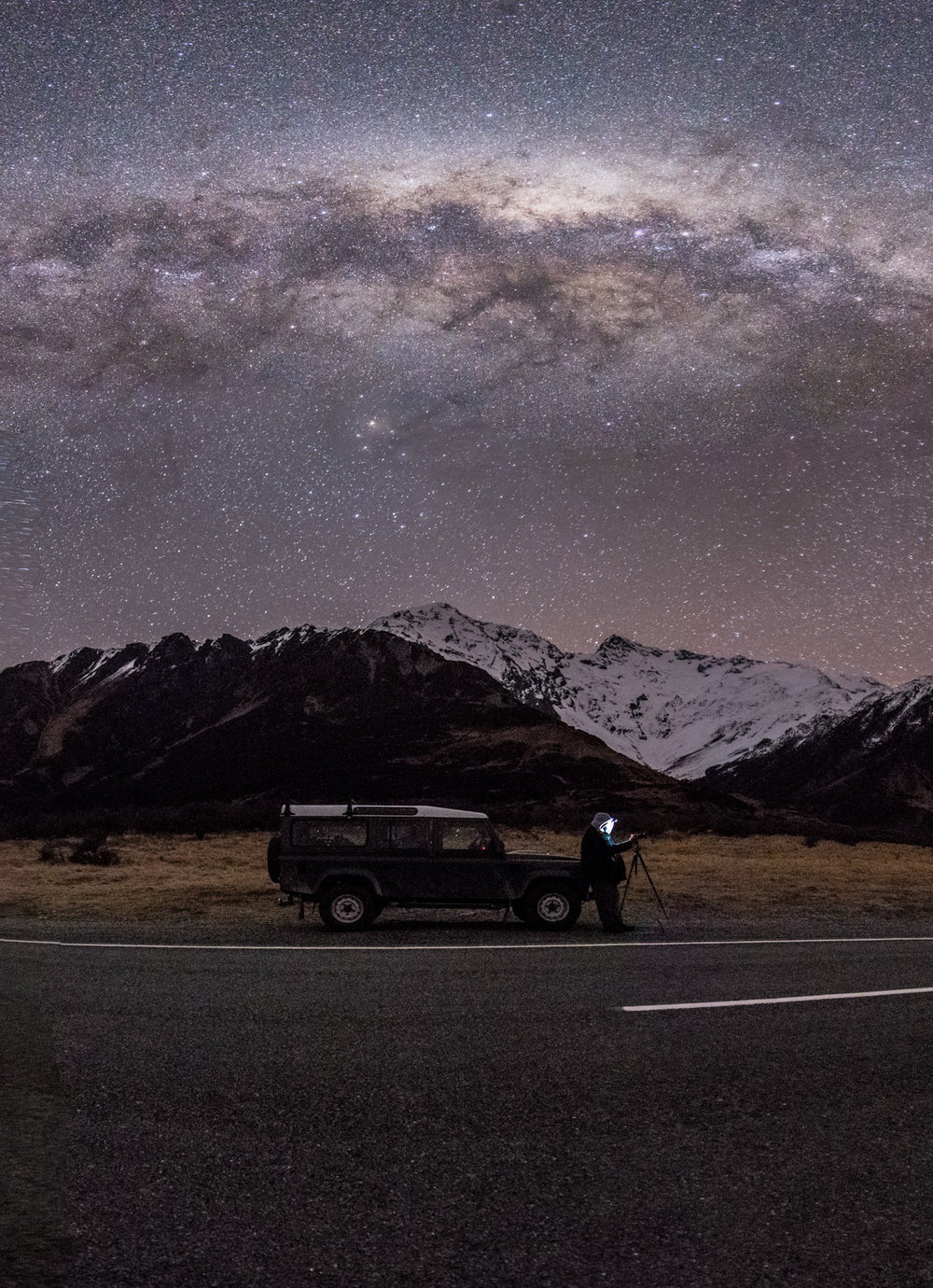 Our Land Rover Defender loves Astro Missions