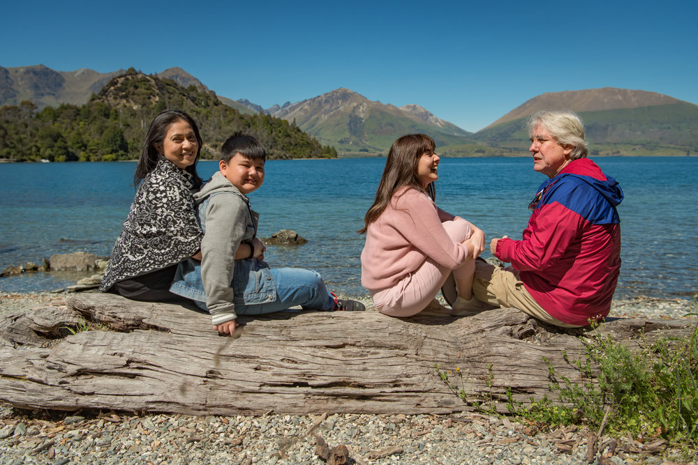 Professional Family Photographs at Queenstown New Zealand Points Of Interest