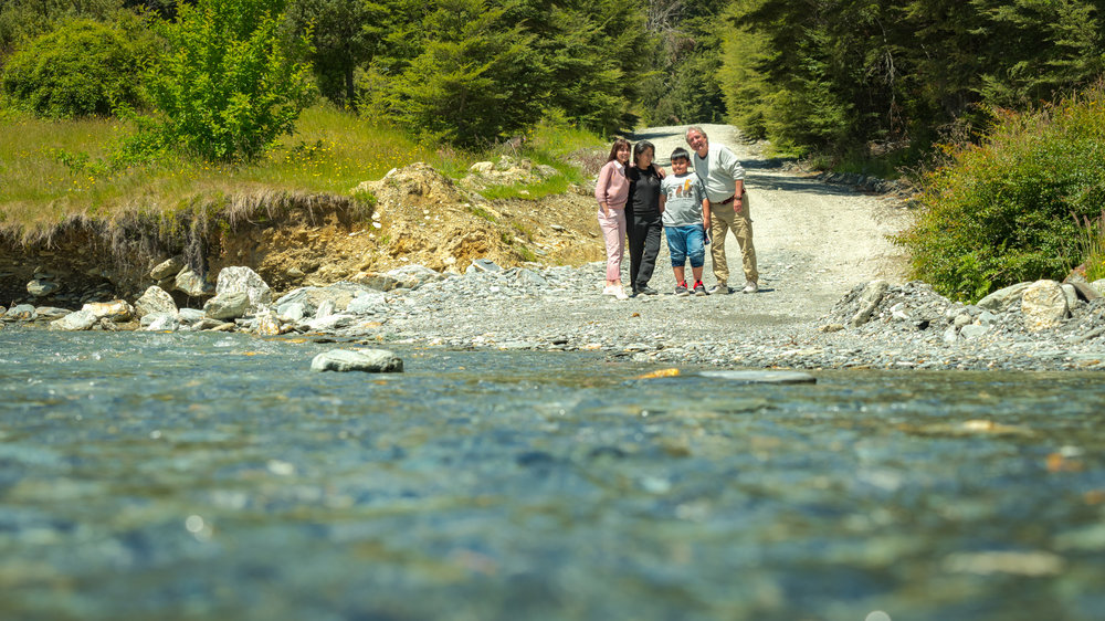 Gravel roads and river crossings are quintessentially rural New Zealand