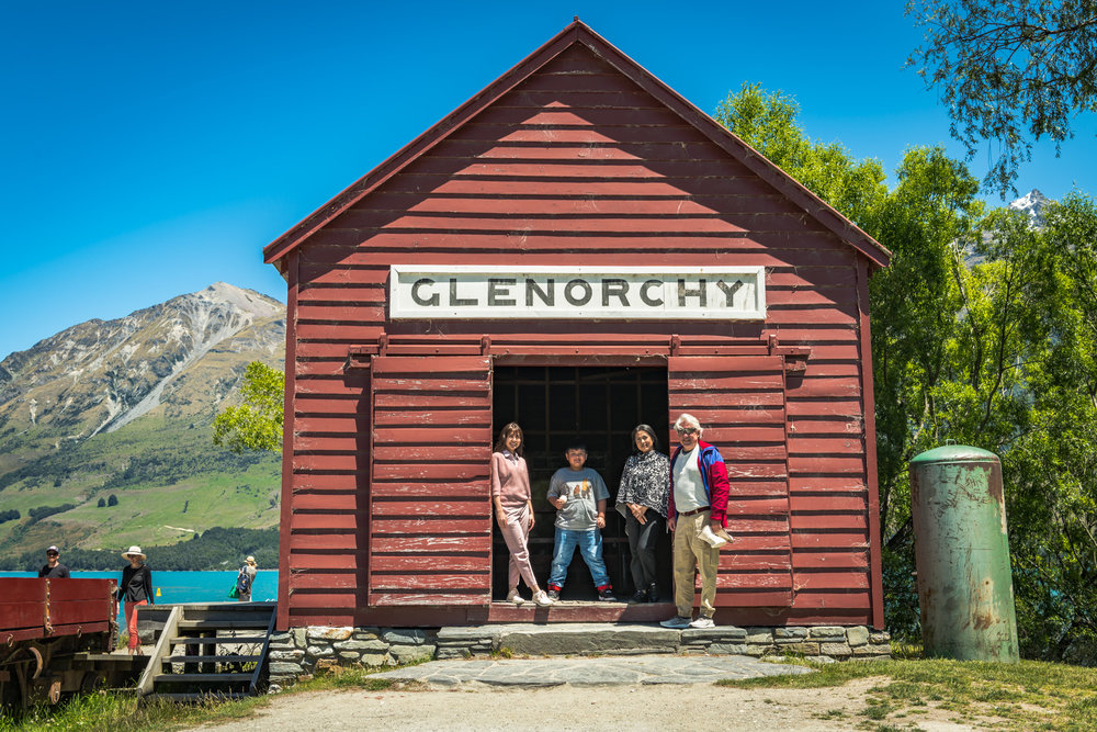 Glenorchy Wharf Boat Shed