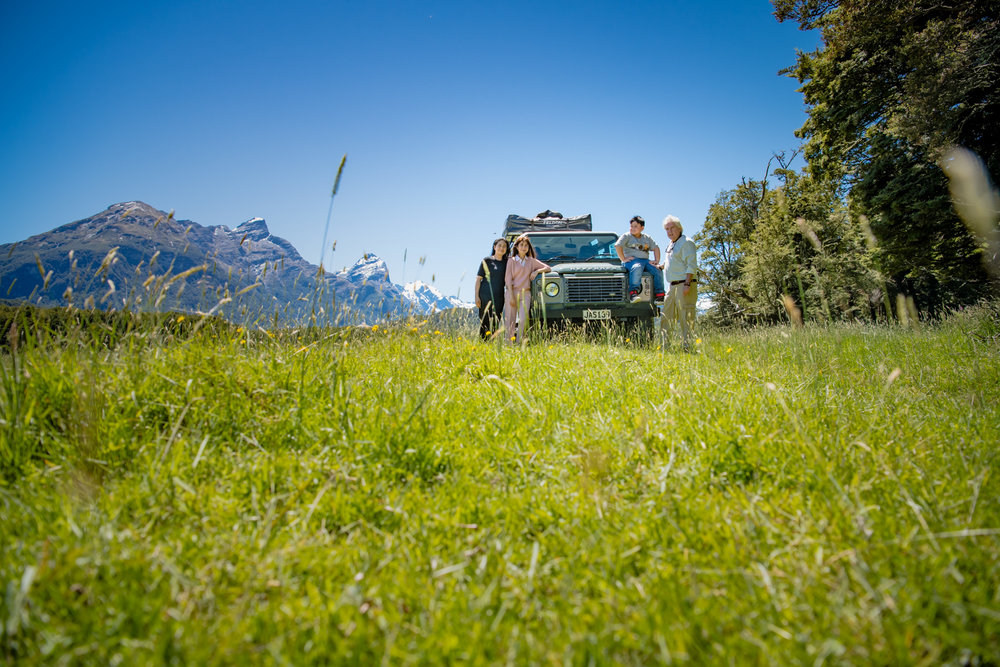 Land Rover Defender TD 110 - Perfect for your Queenstown 4WD Tour
