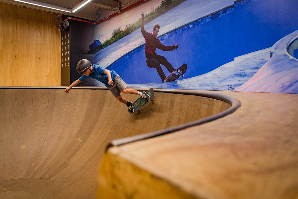Boardertown Queenstown - Indoor Bowl