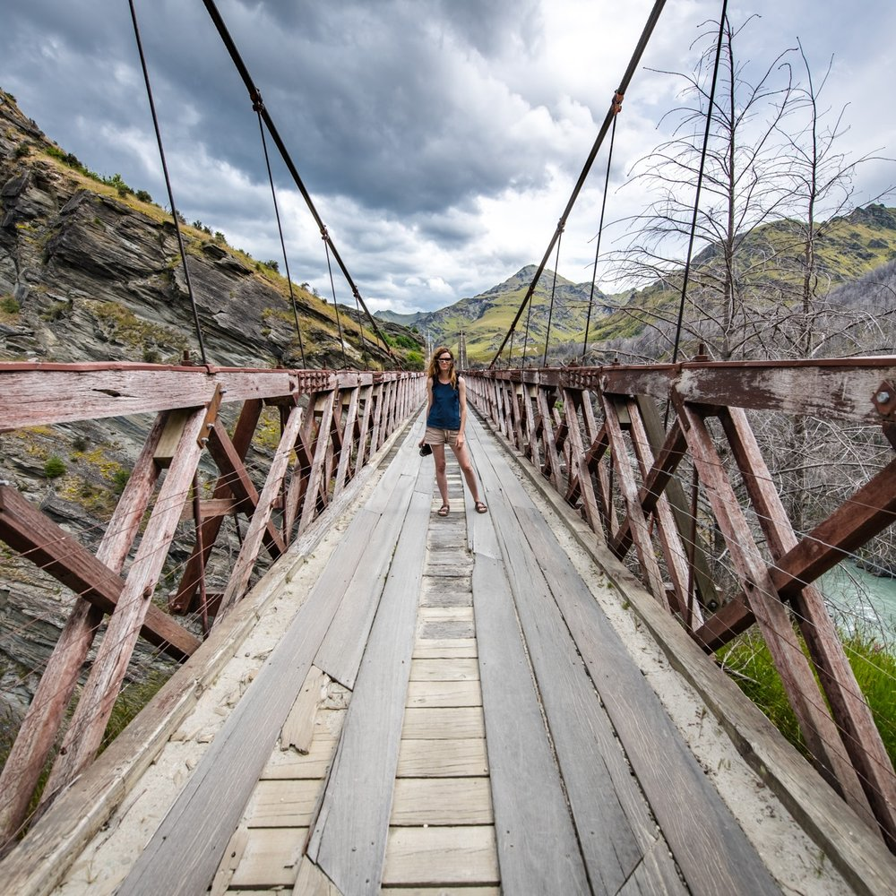 Skippers Canyon Bridge - Queenstown NZ