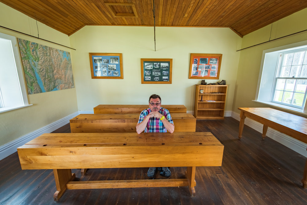 The School House in Skippers Village - Experience what it was like to be at school here 100 years ago