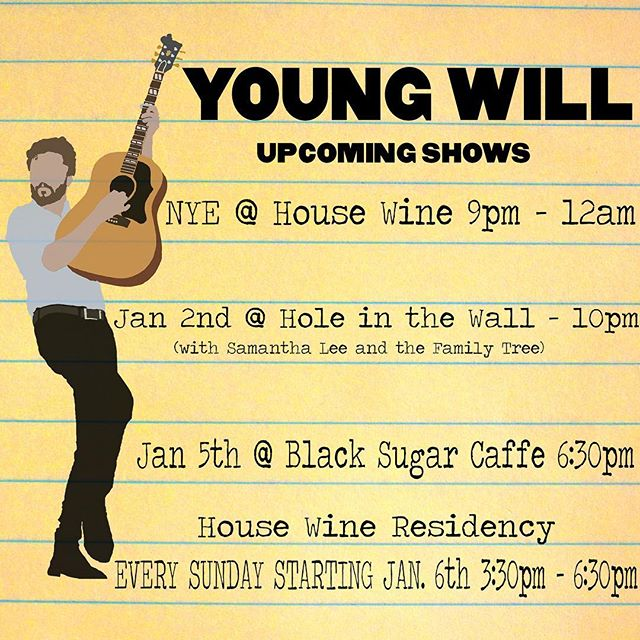 We've got a busy week of shows! Two shows at @housewineaustin, and @hitwatx and #blacksuarcaffe in-between! I expect to see each and every one of you at every single minute of all of these shows. Especially if you don't live in Austin!