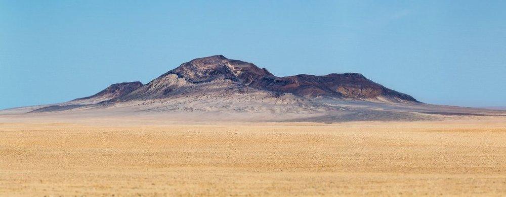 A Mineralised Peak of the Koichab Depression – 1/500s, ƒ/8, ISO 100, 235mm