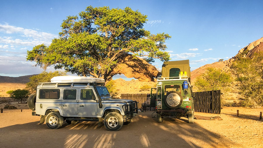 Campsite at Klein-Aus Vista