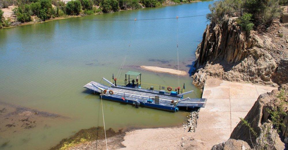 The Octha Ferry – Image courtesy of Natassja King