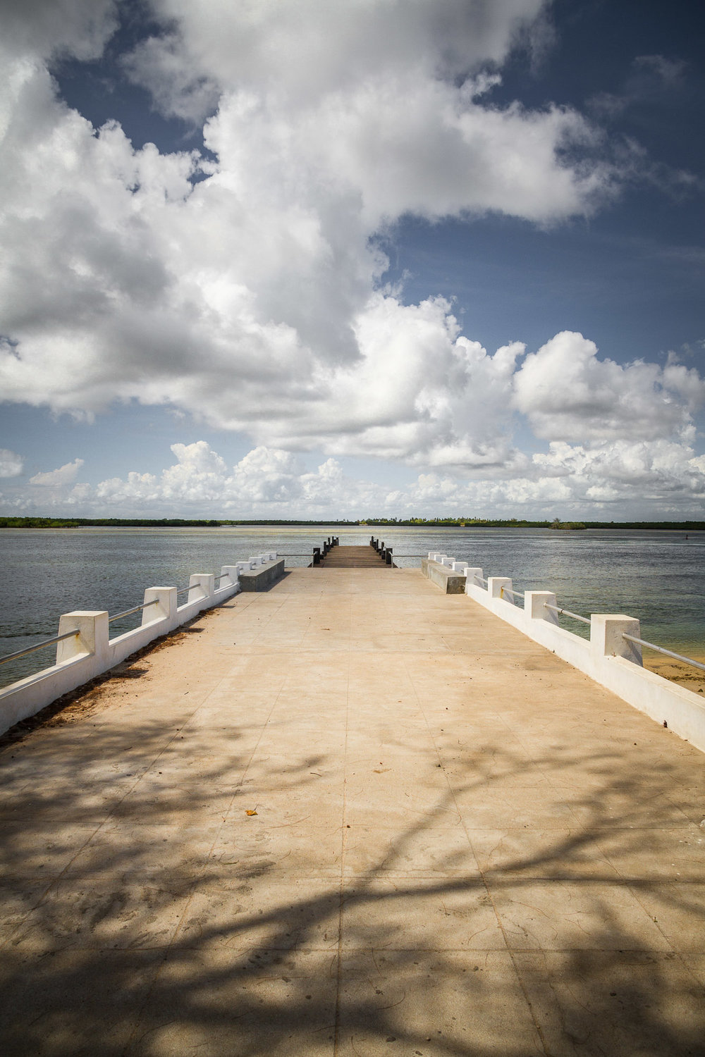 The main jetty.