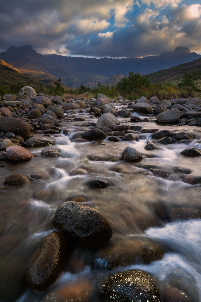 Best of the Drakensberg Amphitheatre from the Tugela River —April 2017