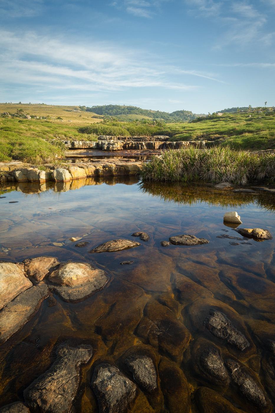 The pristine Luputhana grasslands.