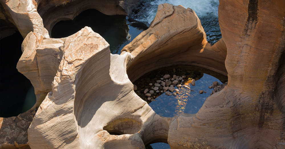 Cover Photo: The Bourke's Luck Potholes – Mpumalanga, South Africa