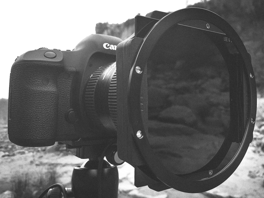 Camera, Lens, and ND Filter