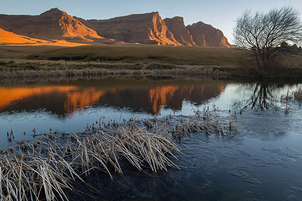 The Devil's Knuckles, Sehlabathebe National Park, Lesotho.