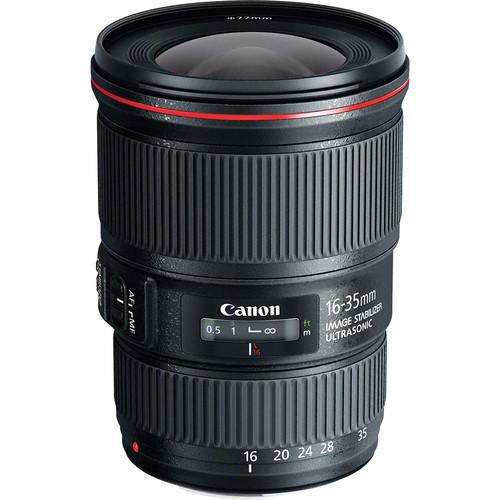 A Canon EF 16-35mm f/4L Lens