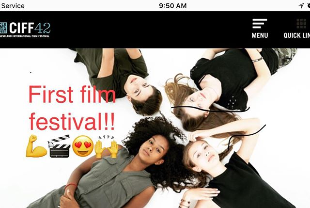 Guyssss! Meme Girls is part of the program at Cleveland International Film Festival! Thanks @ciff42! Can't believe we'll be on an actual big screen 🎬😍🙌😮😎💪 The episode to screen at CIFF features the one and only #SofiaCoppola  Subscribe on YouTube so you'll be the first to catch our episodes as soon as they drop. #memegirls #memegirlsshow #memegirlstheshow #girlpower #filmfestival #webseries #interview