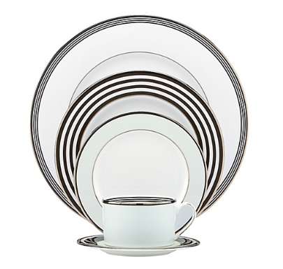 Kate Spade Parker Place 5-Piece Place Setting || Bed, Bath, and Beyond