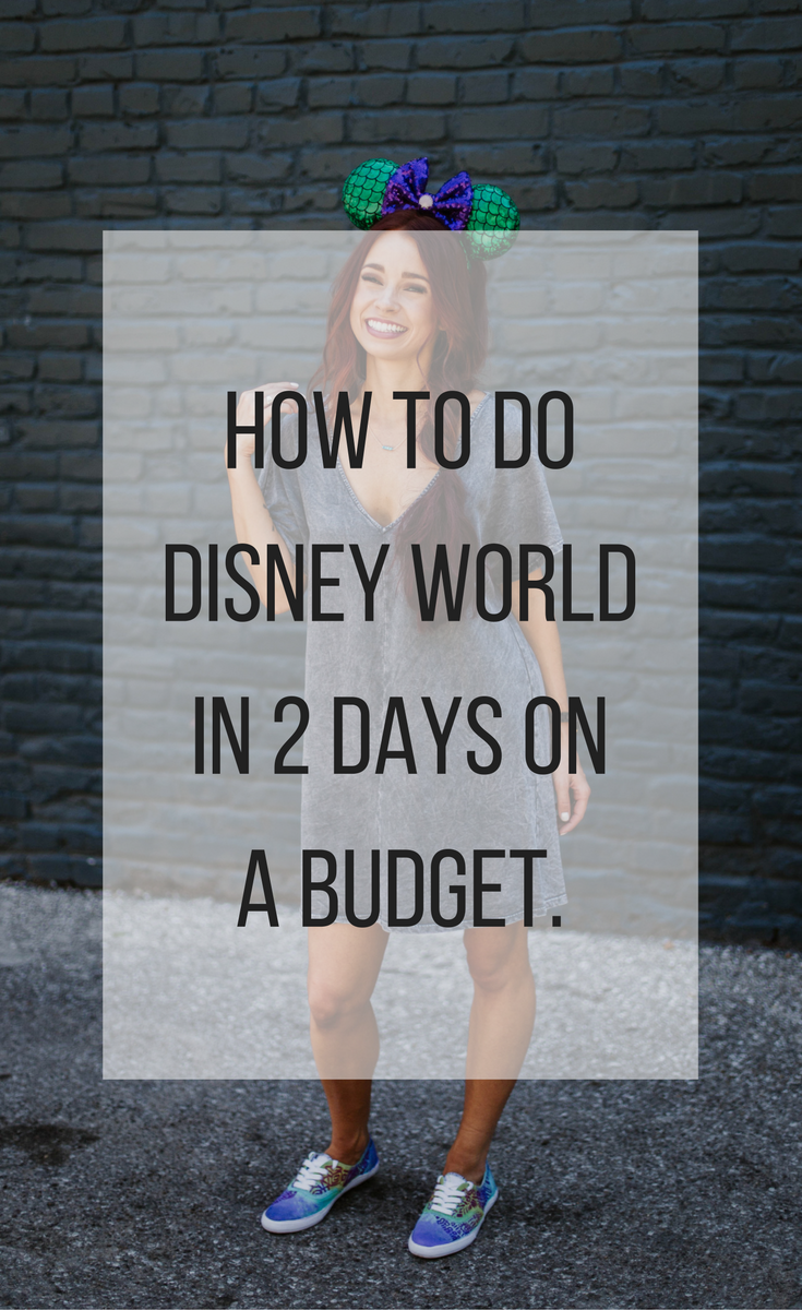 Disney in Two Days: DisneyWorld Tips by popular Indianapolis blogger Trendy in Indy