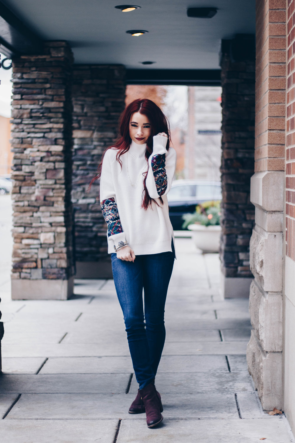 Sweater Weather with Lesley Jane by Indianapolis fashion blogger Trendy in Indy