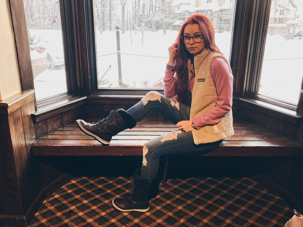 Boyne Highlands Ski Resort Review by popular Indianapolis blogger Trendy in Indy