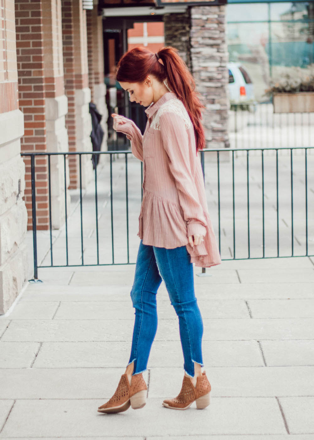 Complete outfit from  Sweet Olive :  top ,  jeans ,  shoes  || Use code TRENDYININDY15 at checkout.