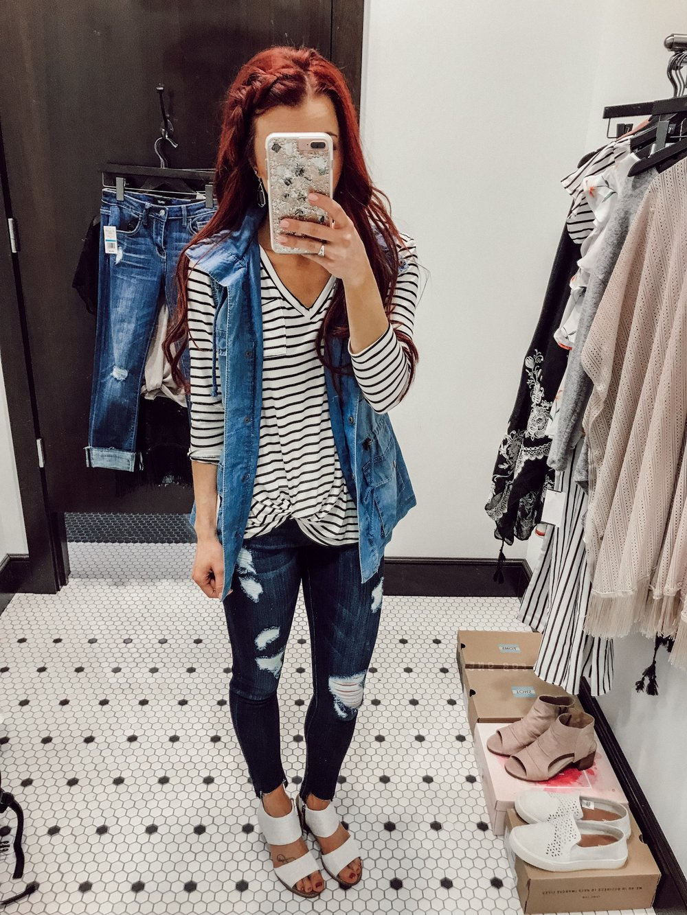 Spring Break Style Inspiration with Dry Goods by popular Indianapolis fashion blogger Trendy in Indy