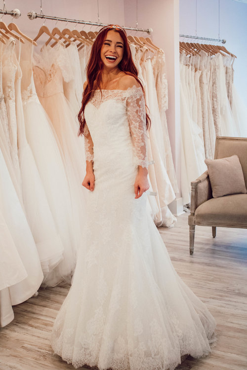 Bridal Gown Shopping with LUXEredux — Trendy In Indy