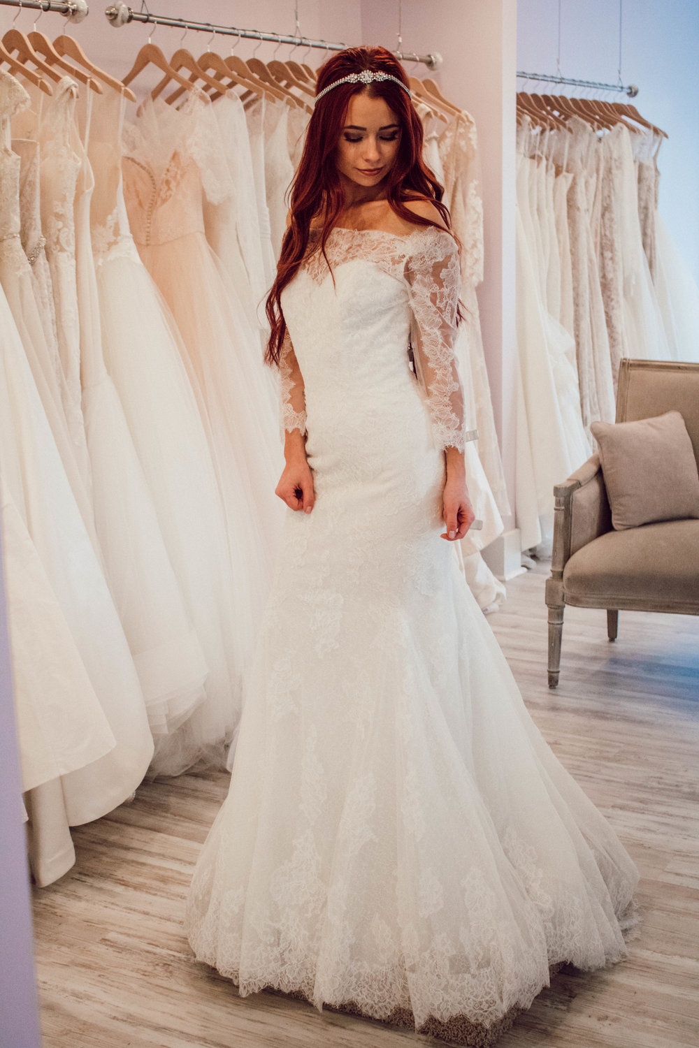 Bridal Gown Shopping with LUXEredux by popular Indianapolis fashion blogger, Trendy in Indy
