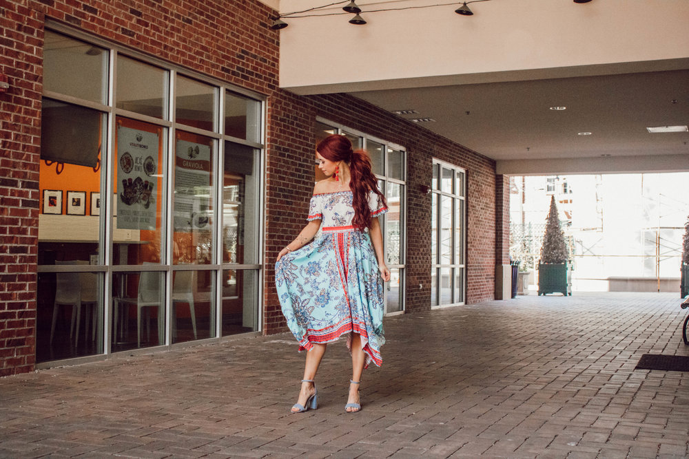 Bridal Gown and Accessories featured by popular Indianapolis fashion blogger, Trendy in Indy