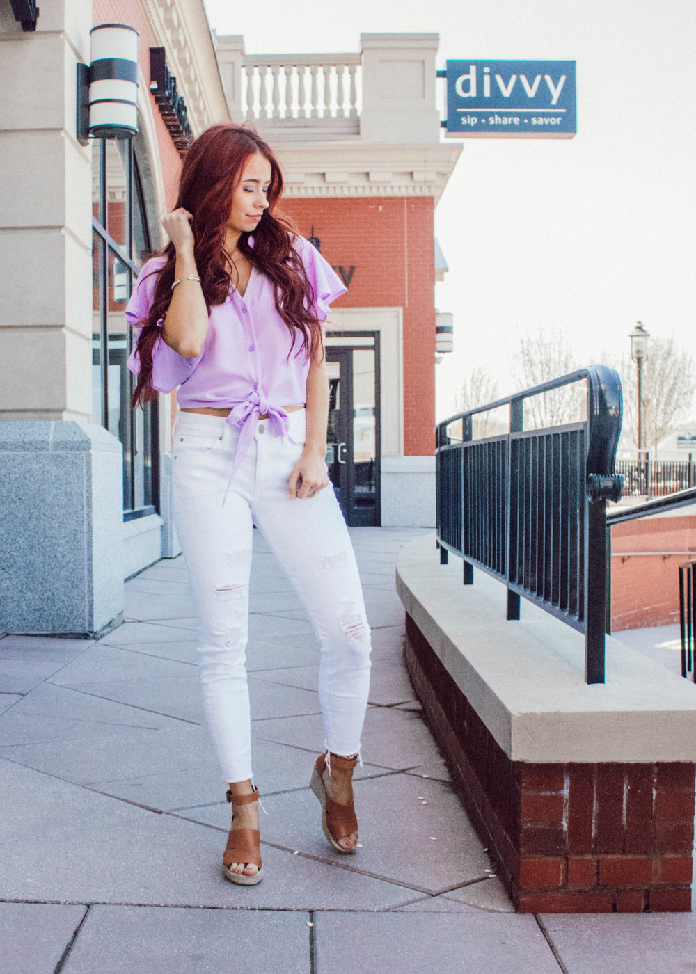 Bridal Shower Outfits for Guests featured by popular Indianapolis fashion blogger, Trendy in Indy