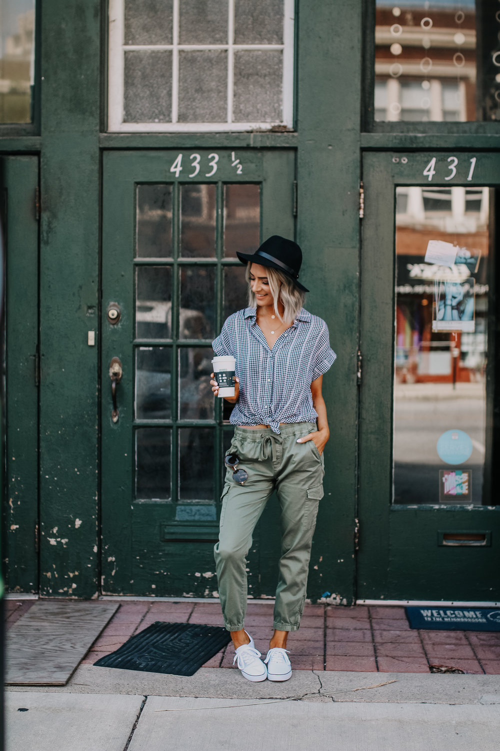 Evereve clothing featured by popular Indianapolis fashion blogger, Trendy in Indy