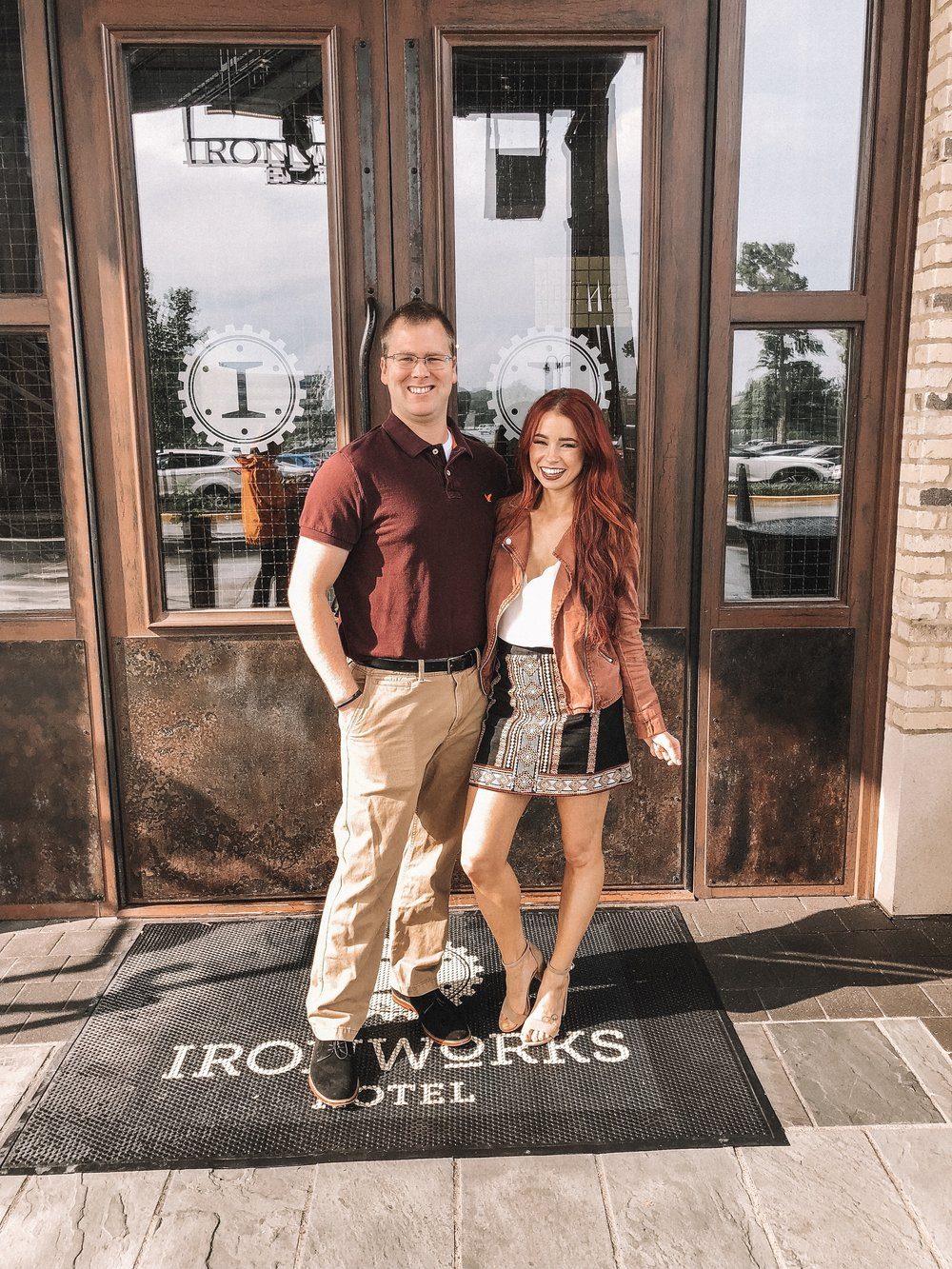 Ironworks Hotel Indy review featured by popular Indianapolis blogger, Trendy in Indy