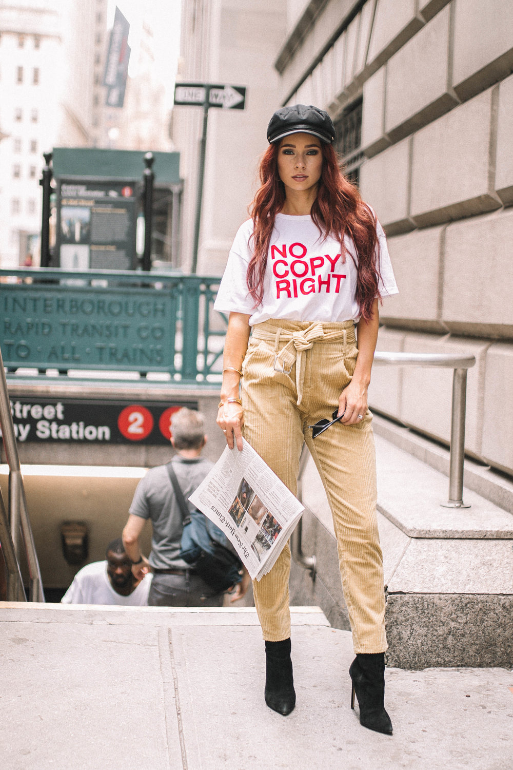 NYFW featured by popular Indianapolis fashion blogger, Trendy in Indy