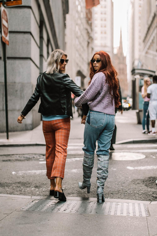Sweater  ||  Denim  ||  Boots  ||  Sunnies  || Lesley Jane Boutique (TRENDYLJB20)