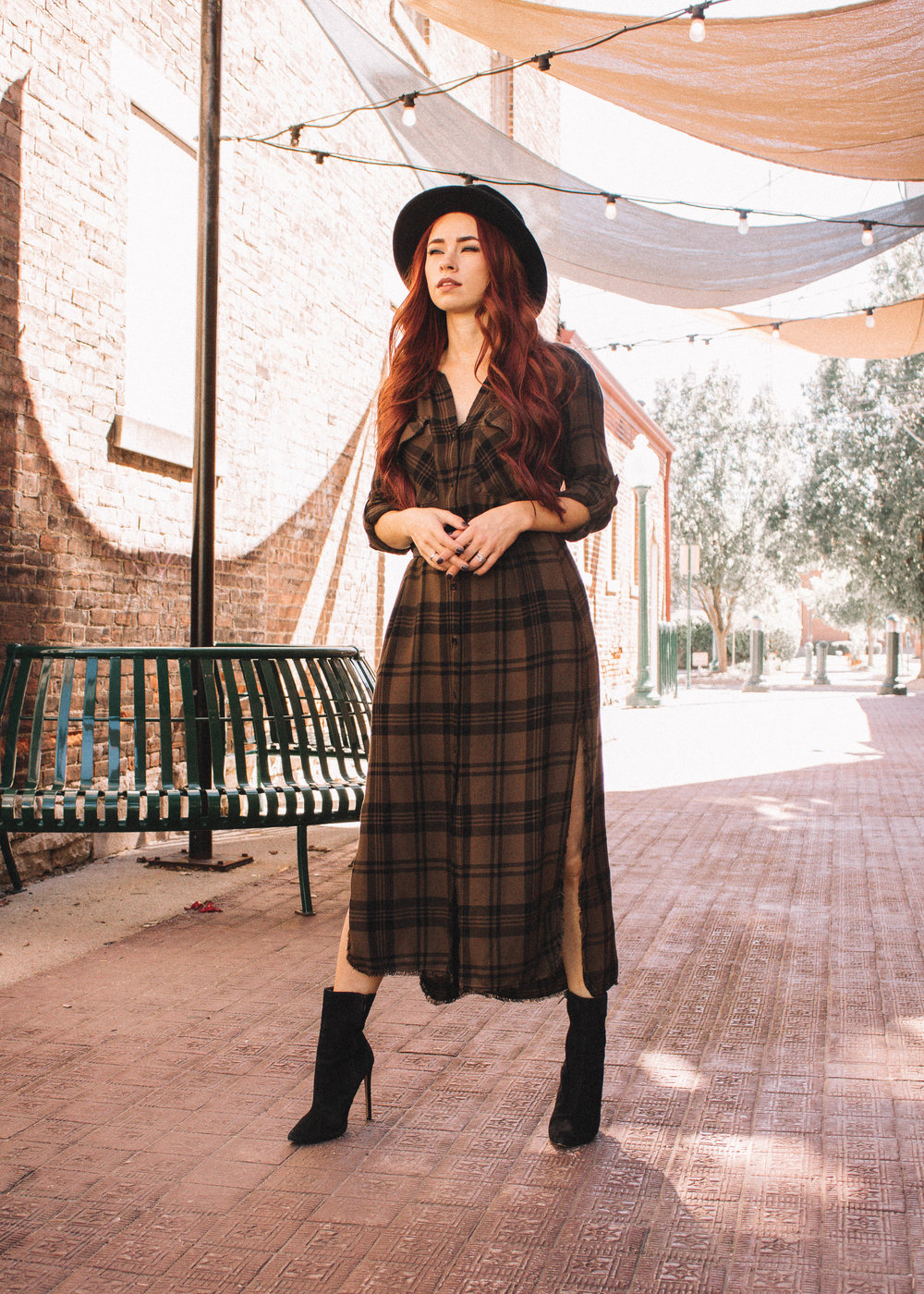 Fall Trends to try featured by top Indianapolis fashion blog, Trendy in Indy: Plaid Fashion