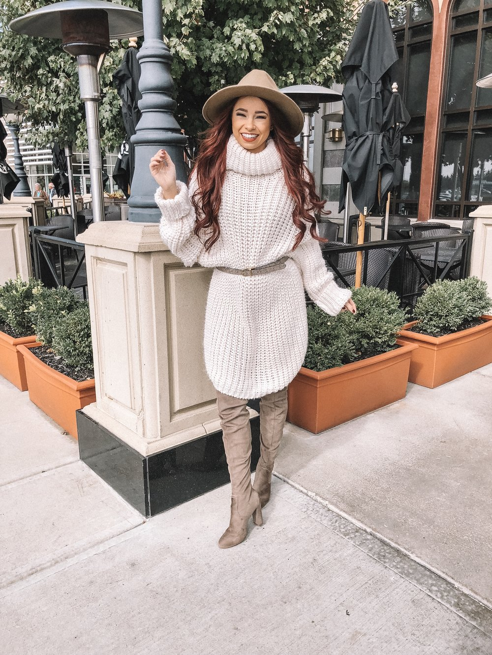 How to Style Cute Fall Dresses featured by top Indianapolis fashion blog, Trendy in Indy