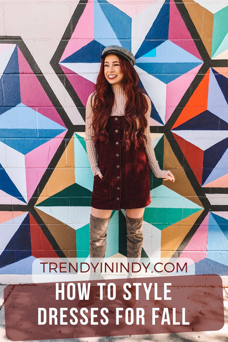 Corduroy - How to style dresses for fall.png