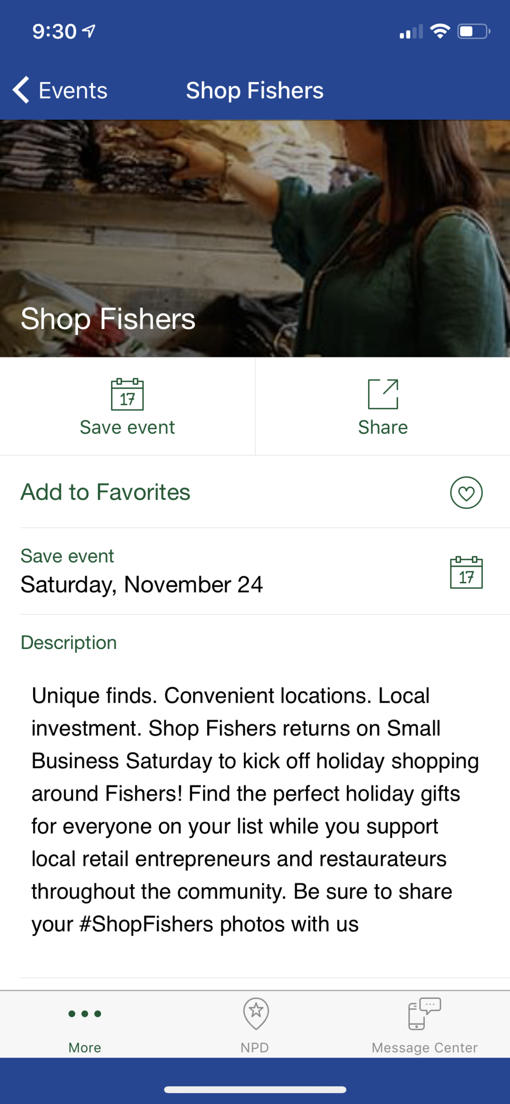Small Business Saturday with Shop Fishers featured by top Indianapolis fashion blog, Trendy in Indy