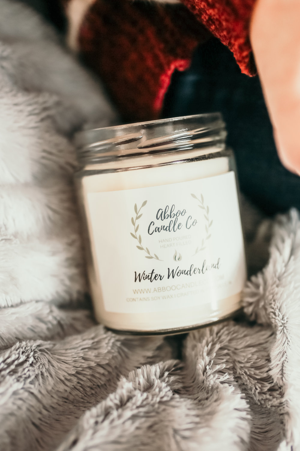 Shop small for the Holidays: Abboo Candle Co. featured by top Indianapolis life and style blog, Trendy in Indy