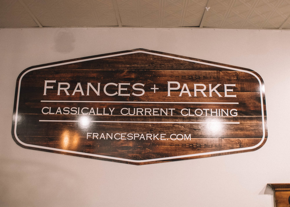 Shop small for the Holidays: Frances + Parke featured by top Indianapolis life and style blog, Trendy in Indy