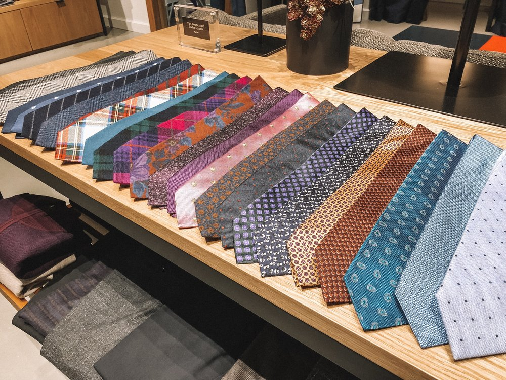 The Best Holiday Gifts for Men with Bonobos featured by top Indianapolis life and style blog, Trendy in Indy: image of colored ties