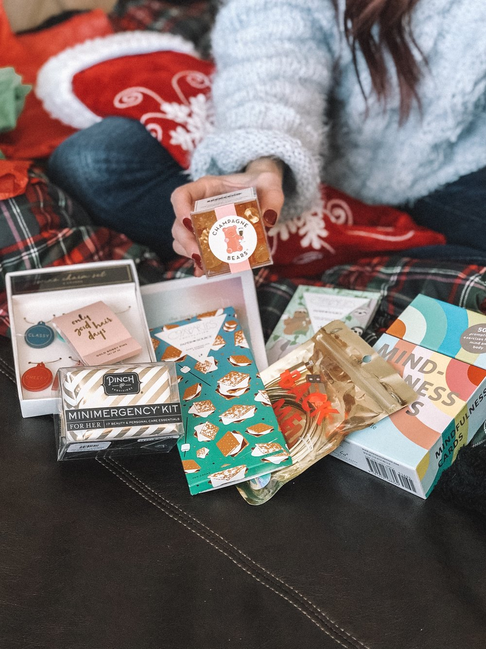 Last Minute Stocking Stuffer Ideas with The Fashion Mall featured by top Indianapolis life and style blog, Trendy in Indy