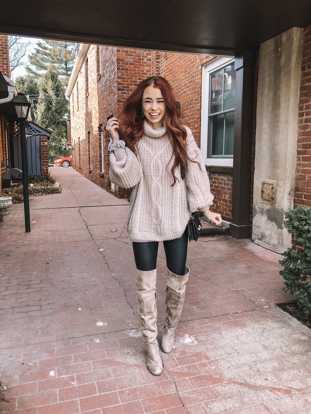 Affordable sweaters featured by top US fashion blog, Trendy in Indy