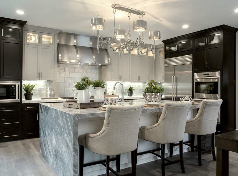 Accent Lighting: It's the jewelry to give your space that designer look. It's normally there to highlight objects or architectural elements in a space.  Accent lights is a simple way to enhance the atmosphere of any room. Keep in mind you shouldn't completely relay on accent lighting as your main source of light. Credit: Designlinesd